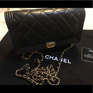 Chanel Boy WOC - Lambskin with Gold Hardware
